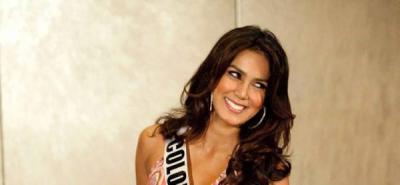 La señorita Colombia confía en su belleza