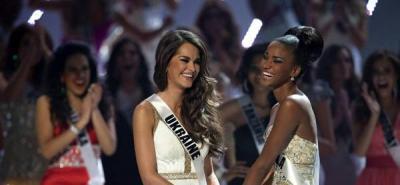 Miss Angola,  la mujer más hermosa del universo