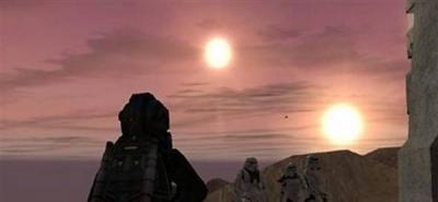 Descubren planeta que gira alrededor de dos estrellas