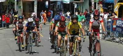 Festival de ciclismo en La Cumbre