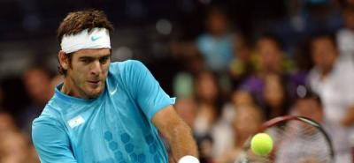 Del Potro satisfecho con el nivel de juego que ha mostrado en la Copa Davis
