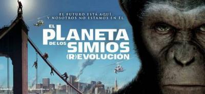 Los simios se imponen en cartelera de cine