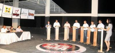 Propuestas de los candidatos a la Alcaldía Darío Echeverri y Yaneth Mojica Arango