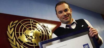 Santiago Cruz, es el nuevo embajador de la buena voluntad del PNUD