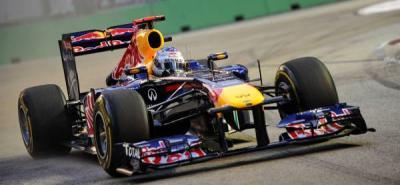 Vettel fue el más rápido este viernes en los entrenamientos libres.