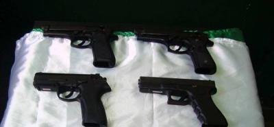 Encuentran caleta con armas  que pertenecerían al Eln