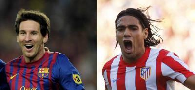 Falcao Vs Messi: duelo de goleadores