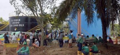 Bloquearon ingreso a estación petrolera de Ecopetrol en Yondó