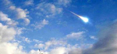 Científicos determinaron que fue un meteorito lo que cayó en Santander hace un año