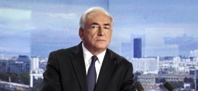 Defensa reitera que demanda civil contra Strauss-Kahn busca extorsionarlo
