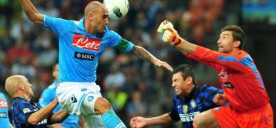Nápoles derrota al Inter en San Siro y es líder provisional del 'calcio'