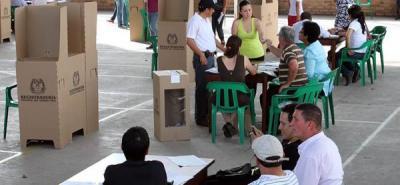 Todo está listo para las elecciones del próximo 30 de octubre