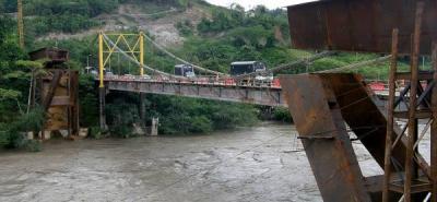 """""""La caída del puente sobre el río Sogamoso podría ser una tragedia anunciada"""""""
