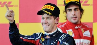 Sebastián Vettel, campeón en la formula uno