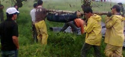 Hombre murió sepultado por un alud en El Playón