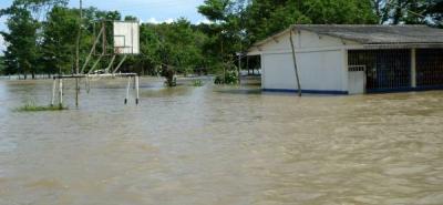 Alerta roja en las riveras del Río Lebrija por inundaciones