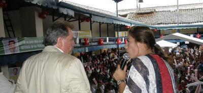 Cote Peña rechaza afirmaciones de Aguilar contra su campaña