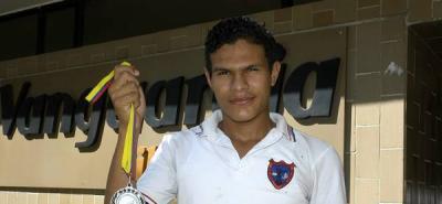 Barranqueño ganó plata en el Nacional Intercolegiado