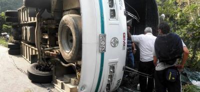 Accidente en Nariño deja seis muertos
