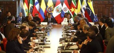 Suspendida reunión de ministros de Economía de la Unasur en Argentina