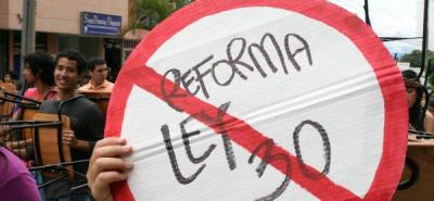 Rectores piden al Congreso que se debata el proyecto de reforma a la Ley 30