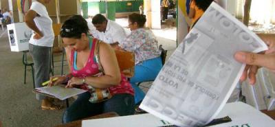 Puerto Wilches pide reconteo de votos en Bogotá