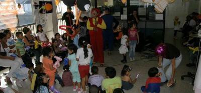 HUS les celebró el Día del Niño a menores con cáncer