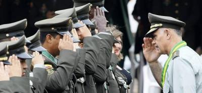 La Policía Nacional celebró su aniversario 120 en Bucaramanga