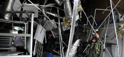 Un muerto y trece heridos tras explosión en Puerto Berrío