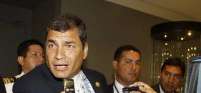 Correa llega a Bogotá dispuesto a fortalecer la integración de la CAN