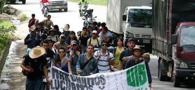 La UIS, en marcha contra la 'Ley 30'
