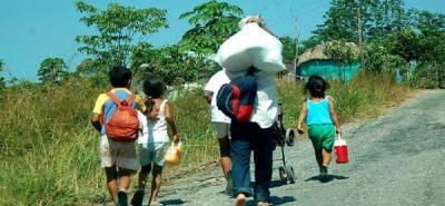 Contraloría cuestionó la atención a desplazados