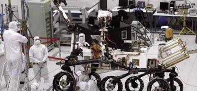 """Nasa prepara el lanzamiento de la """"nave soñada"""" hacia Marte"""