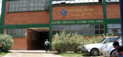 La inseguridad tiene cercados a los estudiantes del 'Gustavo Cote Uribe'
