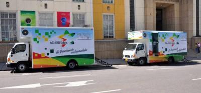 Dos nuevas aulas móviles serán entregadas al Sena