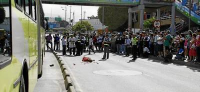 Peatón murió arrollado por bus de Metrolínea