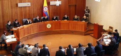Corte Suprema también se retira de la discusión frente a la reforma a la Justicia.