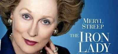 Meryl Streep en el papel de Margaret Tatcher en 'The iron lady'.