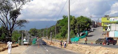 Entre La Salle y el puente El Bueno habrá cierre nocturno en la vía a Girón