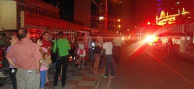 Incendio consume apartamento en el barrio Cabecera de Bucaramanga