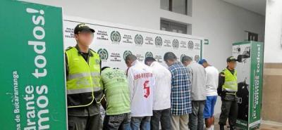 Desmantelan presunta banda criminal de vigilantes informales en Santander