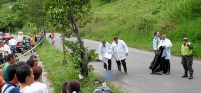 Fallece motorizado tras accidente en Transversal Oriental de Florida