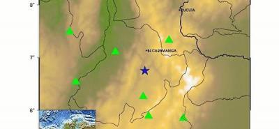 Tembló en Bucaramanga