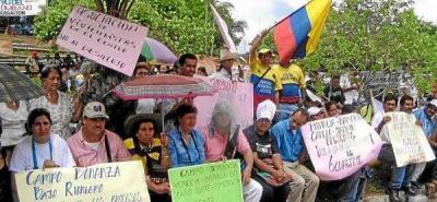 Se inicia paro cívico en campos petroleros de Barrancabermeja