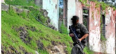 Un policía muerto deja un hostigamiento en Ricaurte, Nariño