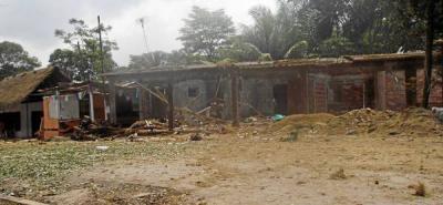 Las Farc atacan con explosivos a patrulla de Policía en Tibú