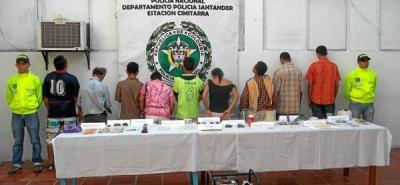 Desmantelan red dedicada al tráfico de estupefacientes