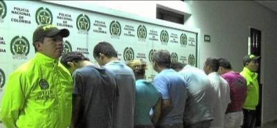 Operativos de la Policía dejaron ocho capturados