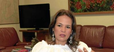 Judith Pinedo, exalcaldesa de Cartagena
