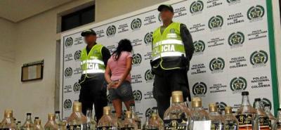 Incautadas 93 botellas de licor adulterado en el Norte de Bucaramanga